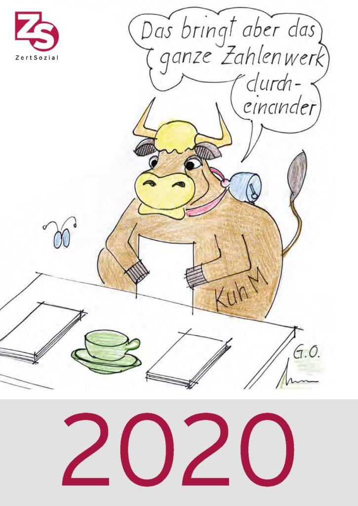 Deckblatt Kalender 2020